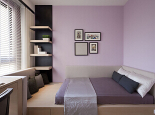 东方花园-现代三居-126坪现代简约三居室