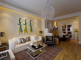 ,130平,9万,现代,三居,客厅,黄色,
