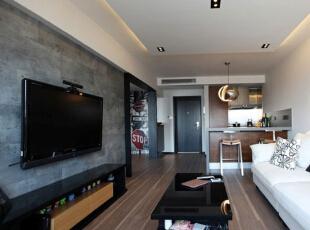现代小户型-老房翻出新花样 55平简约梦想小户型
