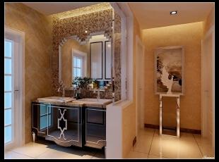 平阳景苑170平--四居室--门厅装修设计—简欧装修设计效果图,170平,欧式,四居,玄关,卫生间,宜家,