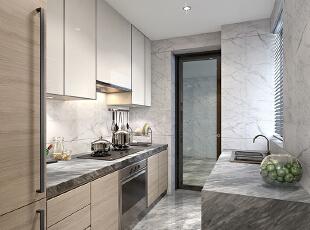厨房设计,130平,35万,现代,三居,