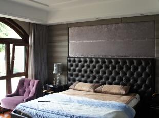儿子房,650平,800万,新古典,别墅,卧室,棕色,白色,