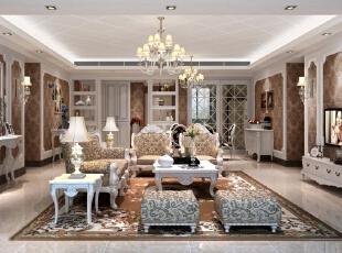 ,200平,70万,现代,一居,客厅,棕色,白色,
