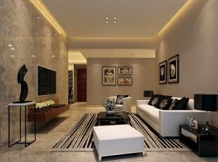 ,120平,40万,现代,三居,客厅,