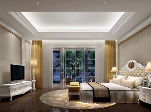 ,2000平,260万,欧式,别墅,卧室,白色,