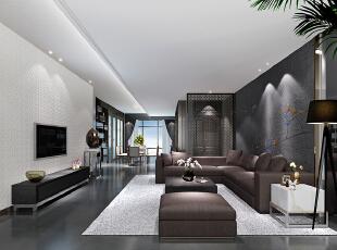 ,180平,60万,现代,四居,客厅,卧室,