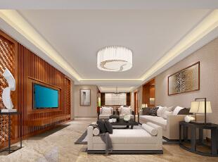 ,245平,80万,现代,大户型,客厅,原木色,白色,