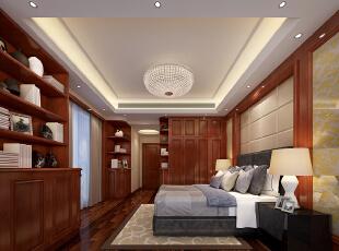,120平,50万,现代,三居,卧室,