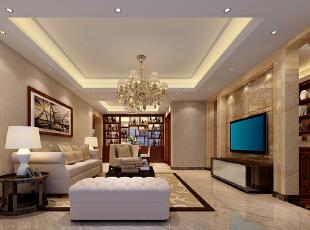 ,120平,50万,现代,三居,客厅,
