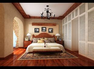 一路拼搏之后的那份释然,让人们对大自然产生无限向往。回归与眷恋、淳朴与真诚,也正因为这种对生活的感悟,在轻松、舒适的环境中才能完全放松自己。,160平,33万,美式,别墅,卧室,原木色,黄白,