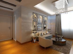 ,78平,55800万,现代,两居,客厅,浅棕色,白色,