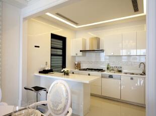 ,130平,18万,欧式,三居,厨房,白色,