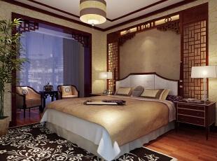卧室、还是以舒适度为主,采用复合地板,踩上去脚感没有那么冰凉,颜色也不会那么冷,性价比较高,背景墙使用实木做的中式窗户的造型,古时候四柱床上较多的造型,业主很满意既有中式元素在,又没有太过陈旧的感觉,传统中式整体颜色比较传统,古旧,不太适合现代人的生活需求,新中式,可以说满足了大多喜欢中式文化,但又担心太过厚重,古旧的感觉,190平,24万,中式,三居,卧室,原木色,黄白,