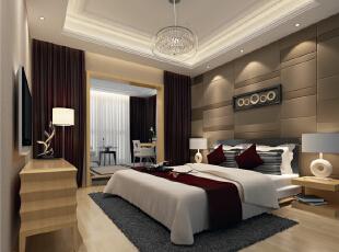,98平,42万,现代,两居,卧室,简约,黑白,春色,原木色,红色,