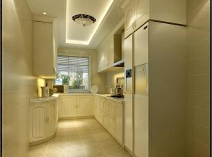 ,200平,50万,新古典,公寓,厨房,白色,