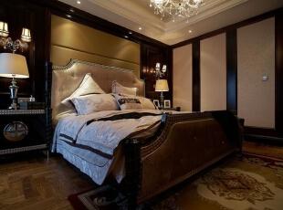 ,120平,18万,欧式,三居,卧室,褐色,棕色,白色,