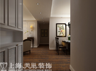 河南农大家属院140平三室两厅混搭装修案例效果图,140平,15万,中式,三居,玄关,白色,