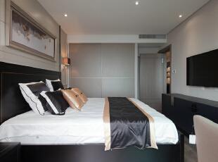 ,120平,18万,现代,三居,卧室,棕色,
