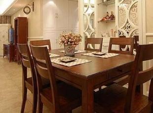 ,130平,17万,混搭,三居,餐厅,原木色,白色,