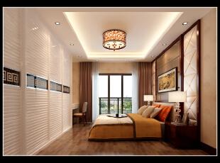 ,173平,13万,中式,四居,卧室,红木色,米黄色,棕色,