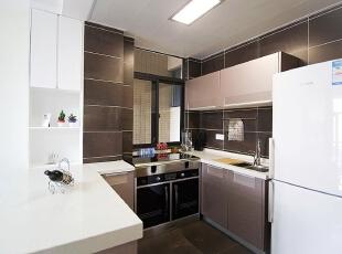 ,180平,25万,新古典,大户型,厨房,棕色,白色,