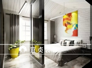 ,155平,15万,现代,别墅,卧室,黑白,