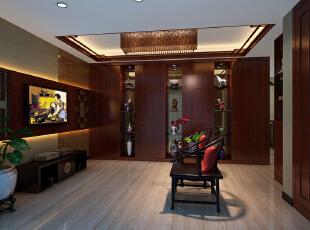 ,252.0平,25.0万,中式,跃层,客厅,红木色,
