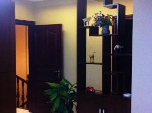 跃层上的会客厅!,252.0平,25.0万,中式,跃层,玄关,红木色,书房,过道,客厅,过道,