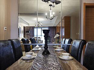 ,95平,7万,新古典,公寓,餐厅,米黄色,褐色,