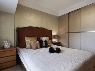 ,95平,7万,新古典,公寓,卧室,黄白,