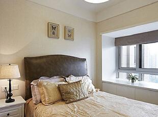 ,95平,7万,新古典,公寓,卧室,白色,