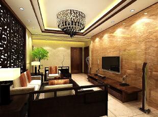 ,220平,12万,欧式,四居,客厅,褐色,棕色,白色,