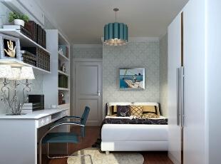 ,90平,4万,现代,两居,卧室,
