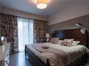 ,106平,9万,美式,两居,卧室,灰白,