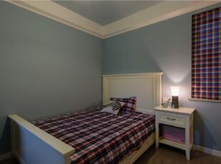 ,106平,9万,美式,两居,卧室,白蓝,