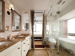 ,156平,12万,美式,公寓,卫生间,白色,