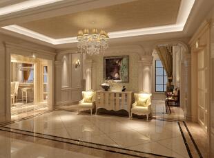 ,760平,0万,欧式,别墅,客厅,黄白,