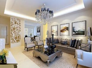 ,118平,79800万,中式,三居,客厅,黑白,