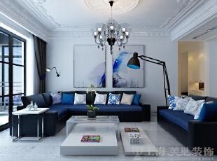 中豪汇景湾装修案例效果图,158平三室两厅装修案例,客厅。沙发的柔软厚实,哑光质感乳胶漆,清新自然。,158平,12万,欧式,三居,客厅,黑白,