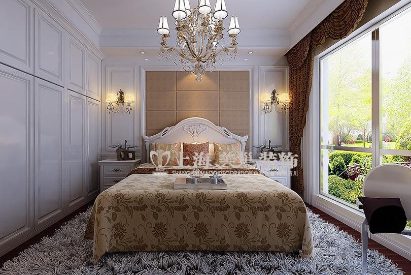 贰号城邦89平两室两厅简欧装修效果图--卧室图片