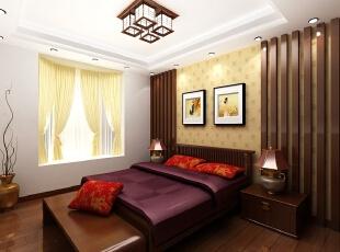 ,150平,20万,中式,四居,卧室,原木色,黄白,