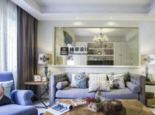 海马壹号公馆246平方五室两厅现代简约装修效果图 客厅,246平,17万,现代,四居,客厅,