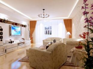 ,160平,12万,现代,复式,客厅,白色,棕色,