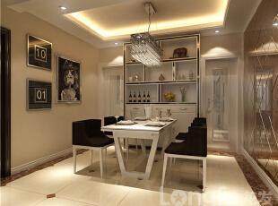 ,138平,4万,现代,三居,客厅,餐厅,白色,原木色,