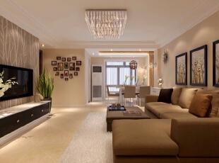 ,155平,52万,现代,三居,客厅,
