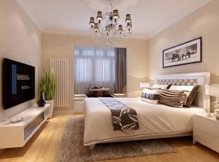,155平,52万,现代,三居,卧室,