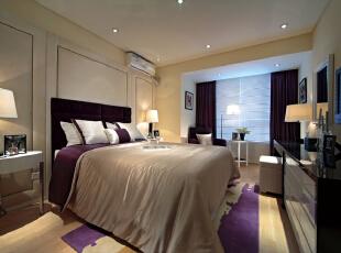 ,192平,38万,现代,四居,卧室,黄白,紫色,