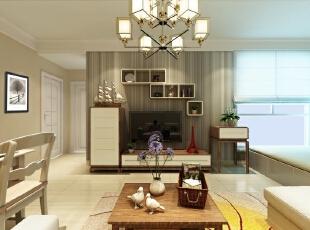 ,85平,8万,现代,两居,客厅,