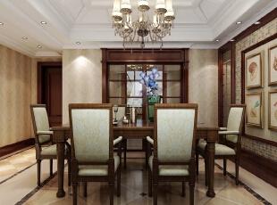 ,420平,20万,新古典,别墅,黄色,红色,餐厅,