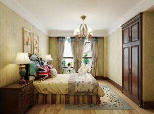 ,420平,20万,新古典,别墅,卧室,黄白,